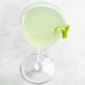 top view of last word cocktail